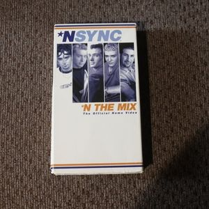 NSYNC In the Mix VHS